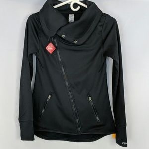 Champion cross zip cowl neck duo dry jacket